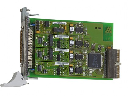 Carte CompactPCI interfaces série CPCI-7500